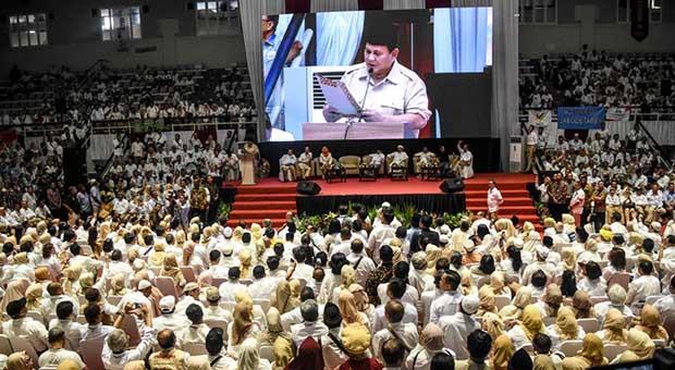 Prabowo Akan Wujudkan Pemerintahan yang Bersih dari Korupsi