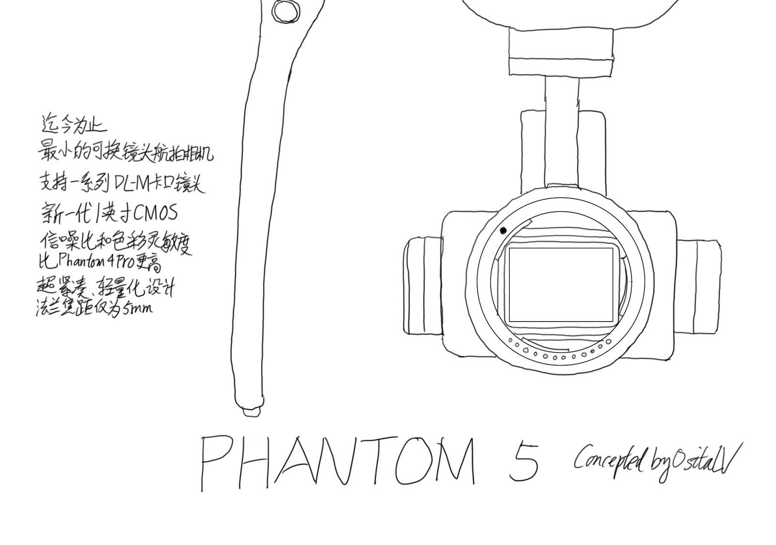 Иллюстрация с камерой DJI Phantom 5