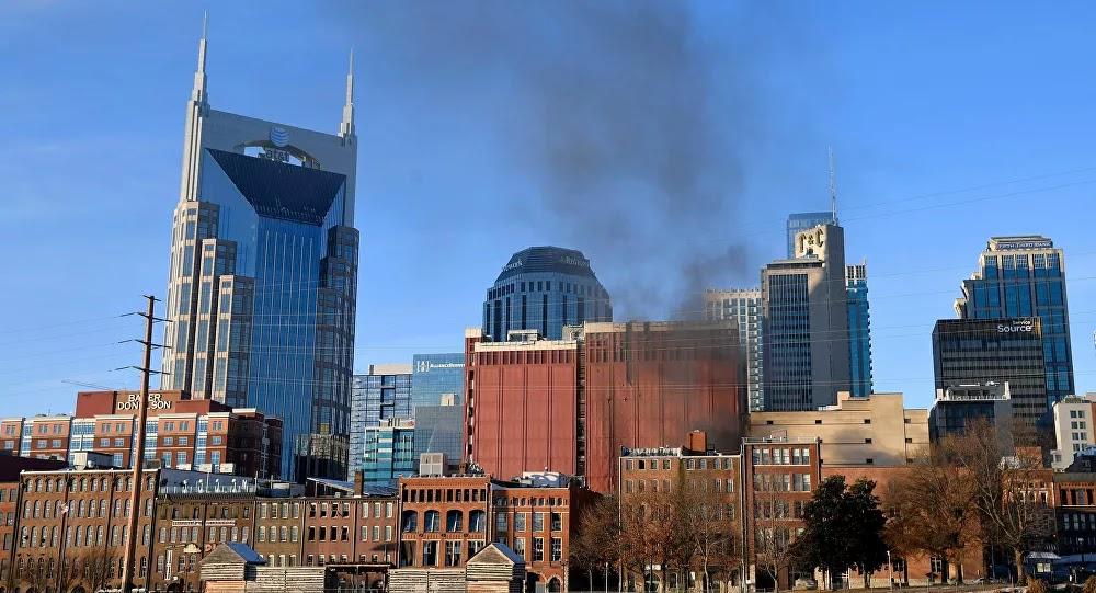 انفجار يهز وسط مدينة ناشفيل الأمريكية
