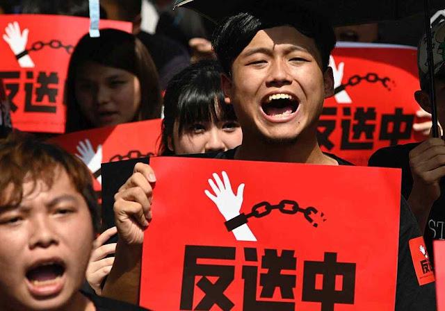 Angústia em Hong Kong o sistema ditatorial comunista parece próximo