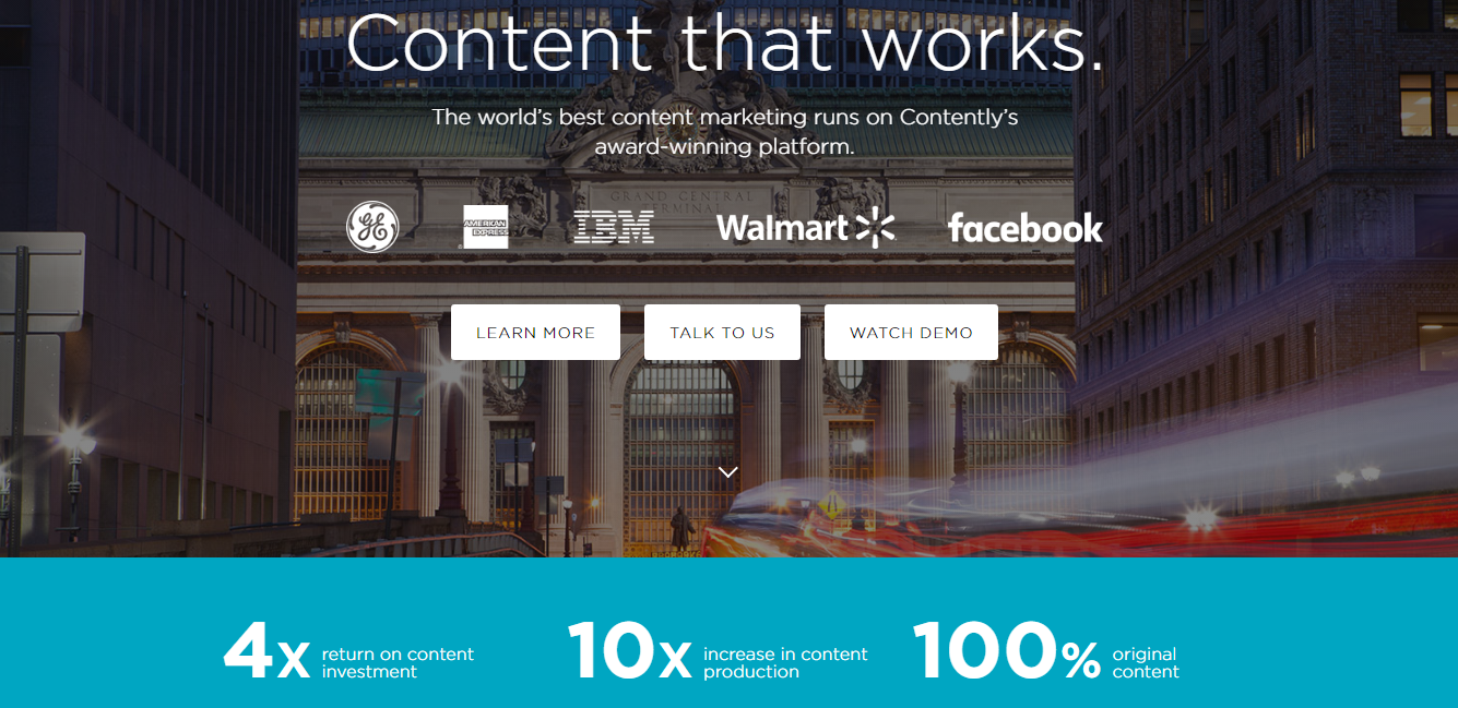 Contently Tool For Content Marketing Strategy
