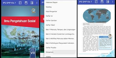 Aplikasi belajar ips smp