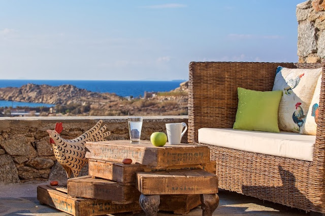 charming house rental in mykonos