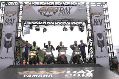 MAXI Yamaha Day di Paropo Sumatera Utara