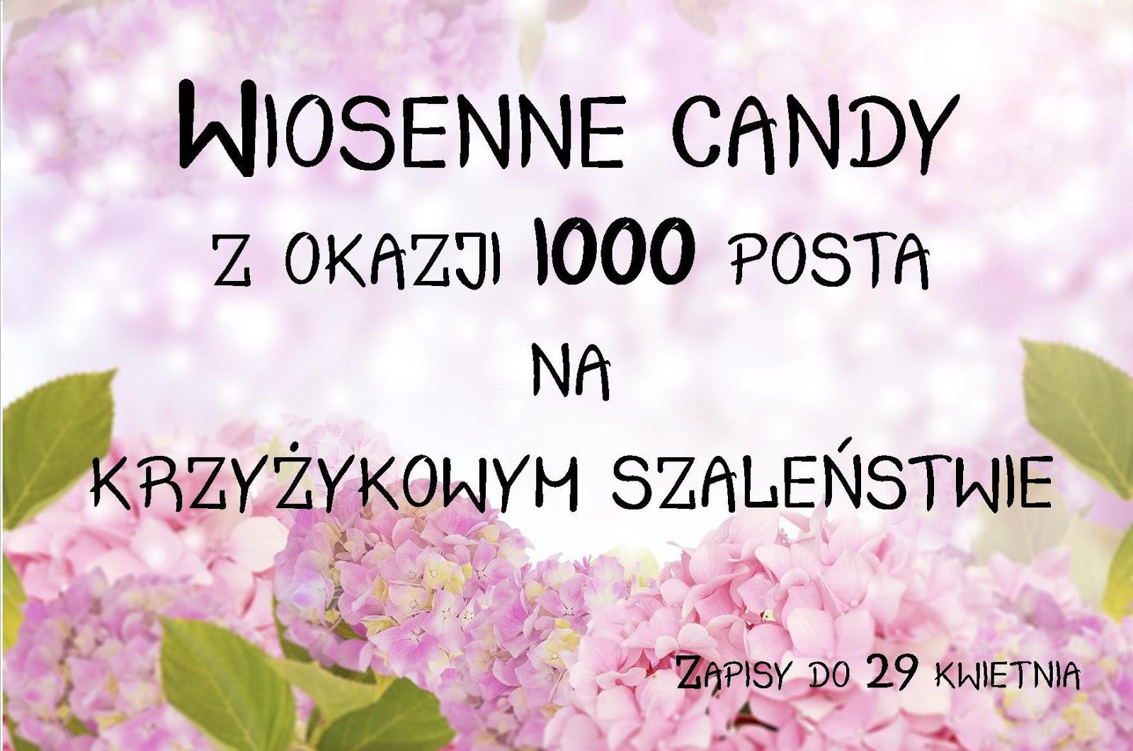 Wiosenne Candy na Krzyżykowym Szaleństwie :)