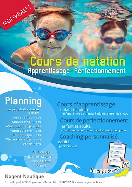 Cours particulier de natation à Nogent Nautique
