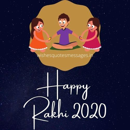 Happy Raksha Bandhan 2020 Image