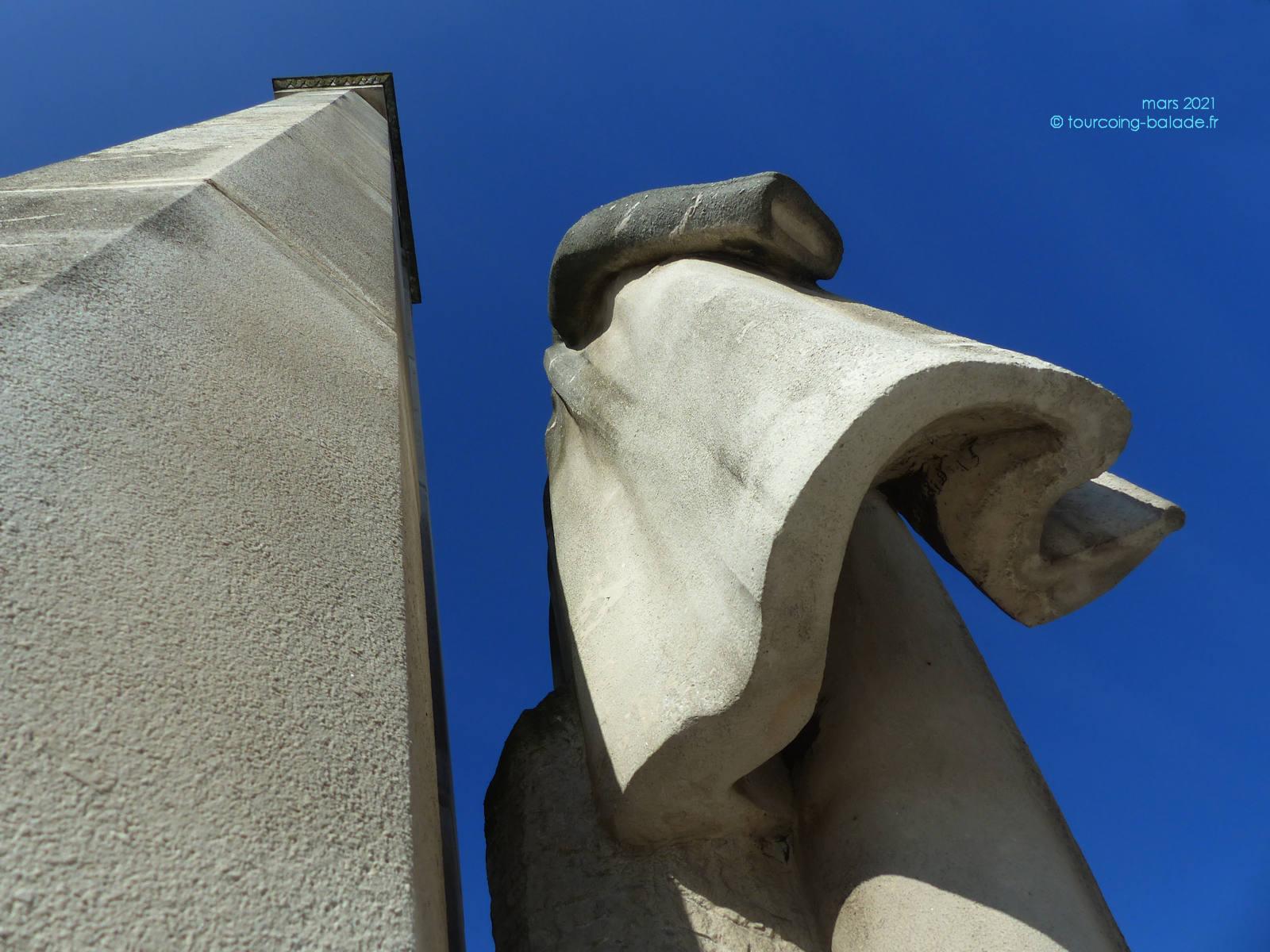 Monument Dron, Tourcoing - Regard Art Moderne