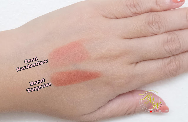 a swatch photo of PeriPera Ink Airy Velvet Sticks Review by Nikki Tiu of askmewhats.com