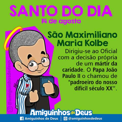 São Maximiliano Maria Kolbe desenho