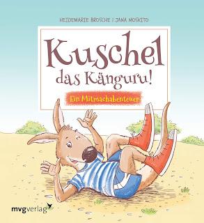 """Rezension des Bilderbuches """"Kuschel das Känguru!"""" von Heidemarie Brosche"""