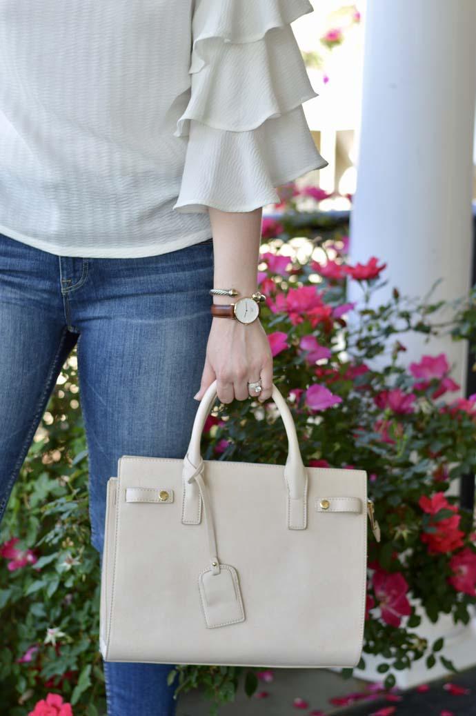 Sole Society Satchel Handbag