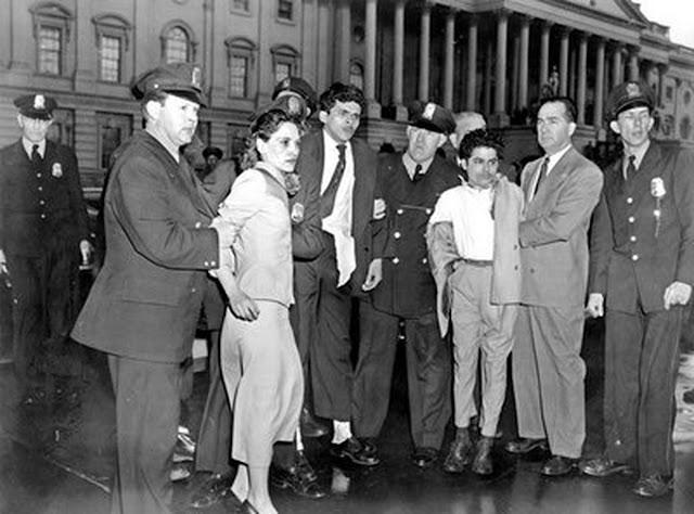 El asalto al Capitolio de Lolita Lebrón en 1954, deja de ser el último tiroteo en el Congreso de EEUU