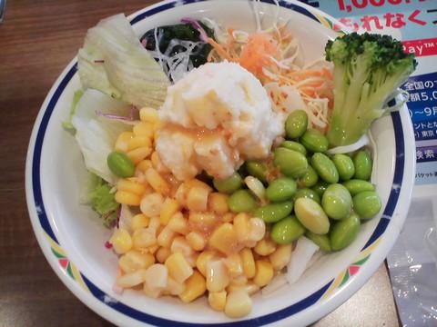 サラダ2 ステーキガスト一宮尾西店9回目