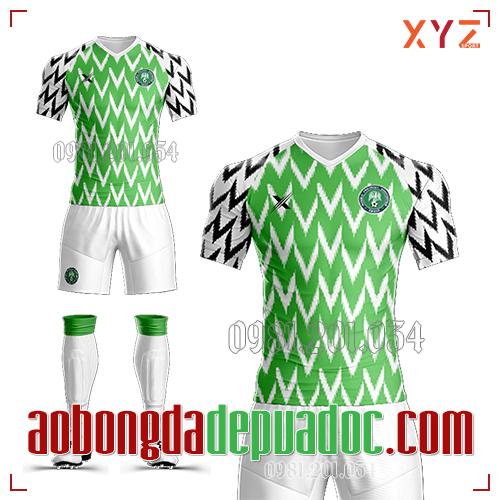 Áo Nigeria 2019 Sân Nhà