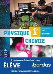 ESPACE - Physique-Chimie 1re - 2019