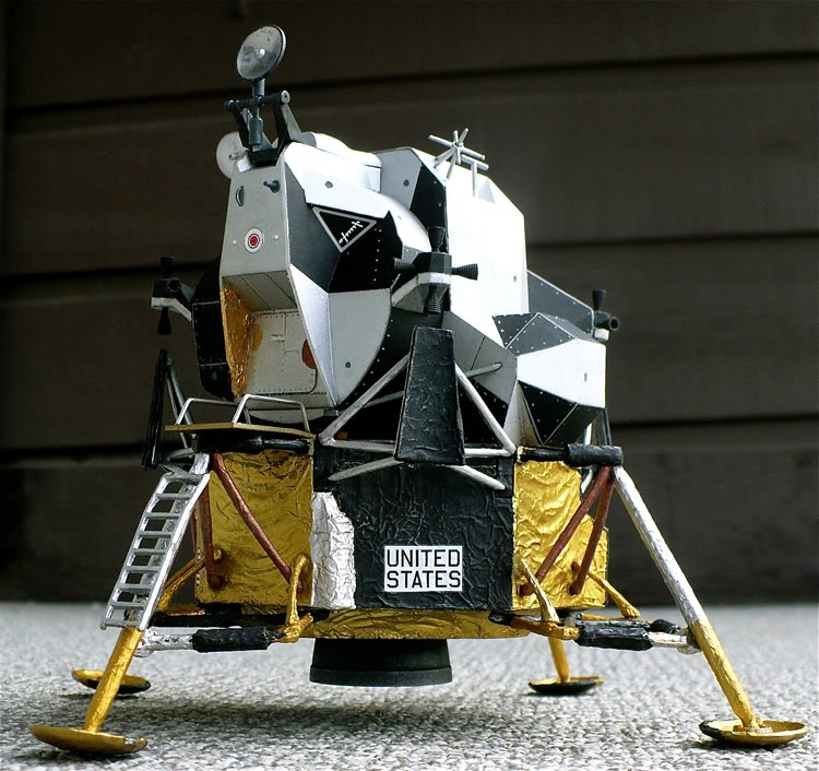 Apollo 11 Lunar Module (page 2) - Pics about space