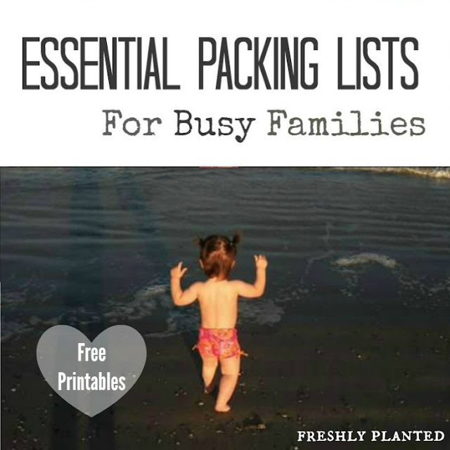 Packing Essentials for Busy Families | Freshly Planted