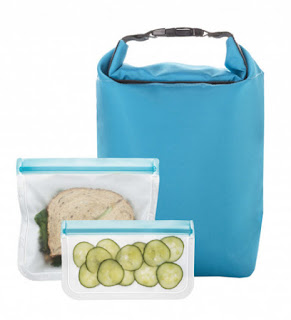 zero waste back to school lunch bags, totes, boxes and kits