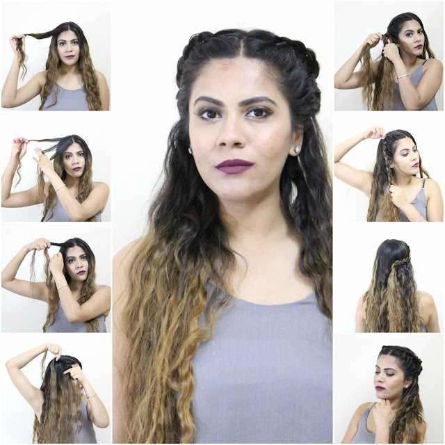 Terrific Lace Braid Half Updo No Hear Hairstyles Short Hairstyles Gunalazisus