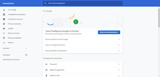 Account Chrome