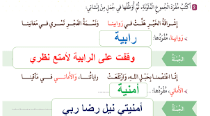درس إشراقة وطن لغة عربية