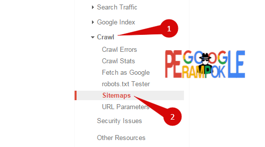 Cara submit blog di search console google