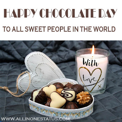 Happy Chocolate Day Wishes Quotes Images