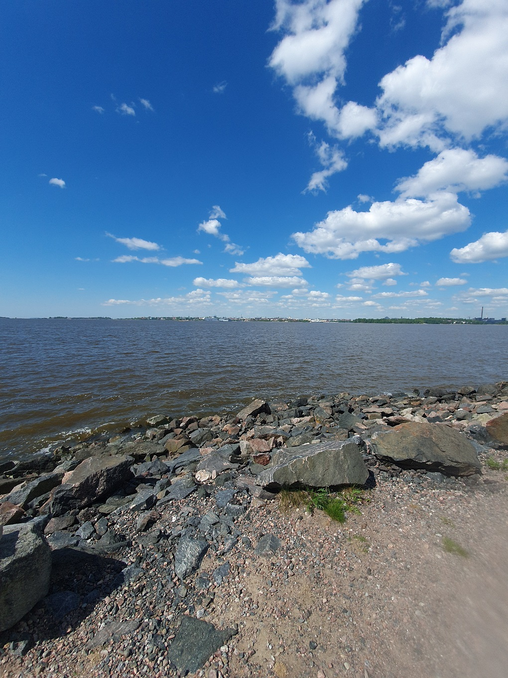 You know that you live on an island when...city view helsinki elisabeth rundlof