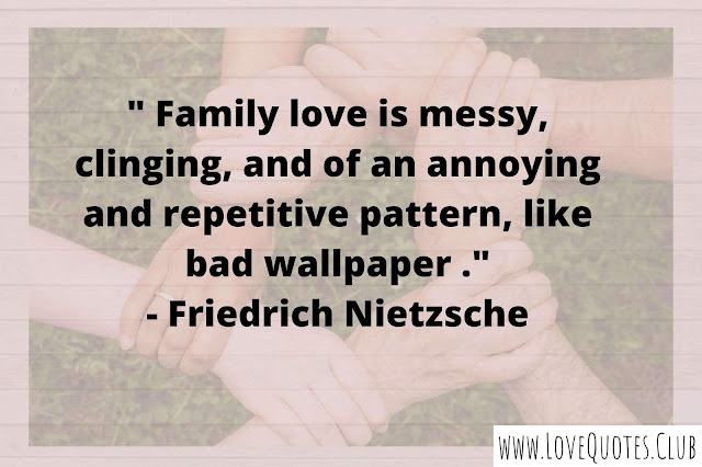 love quotes for my family