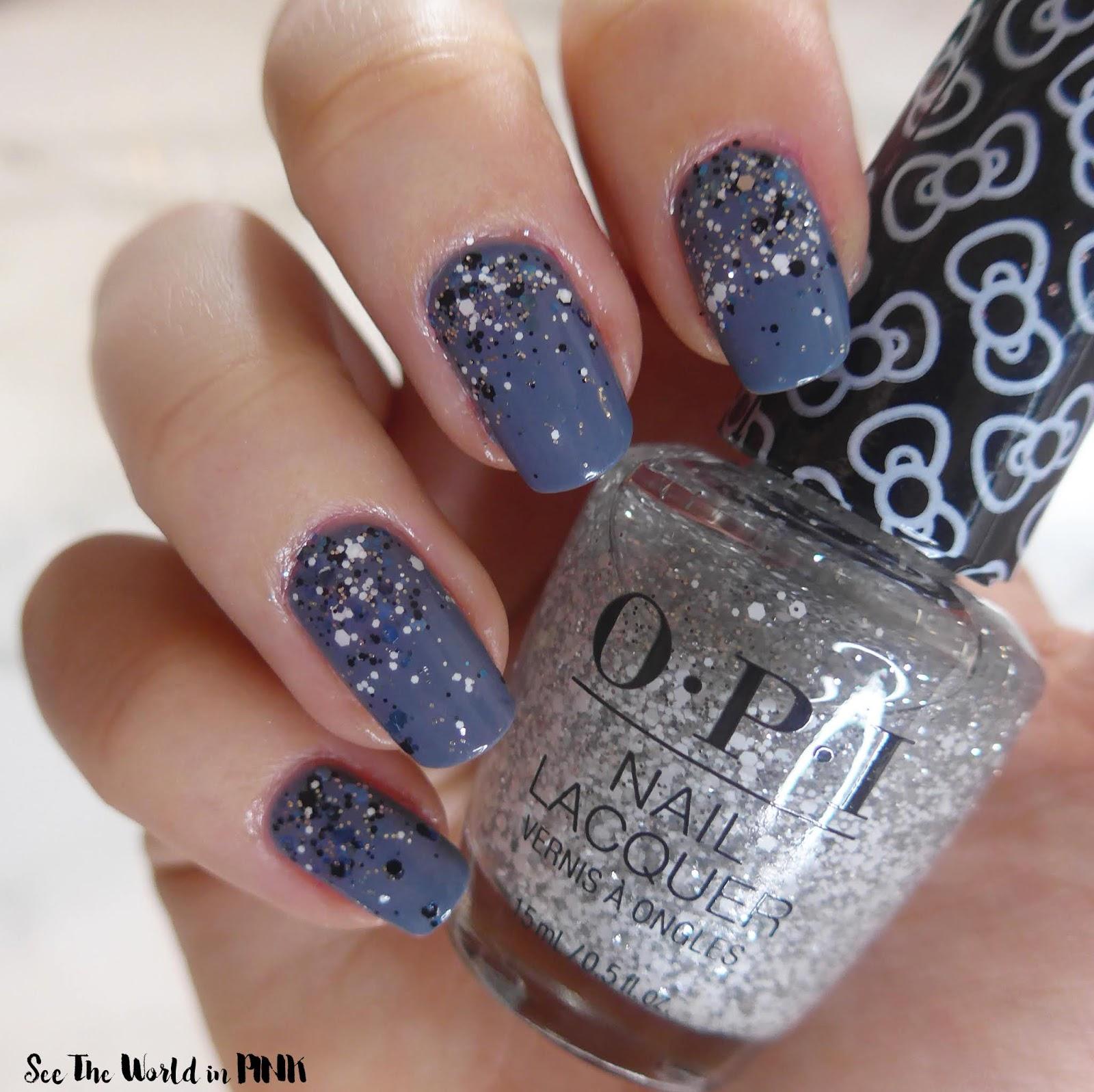 Manicure Monday - Winter Wonderland Nails!