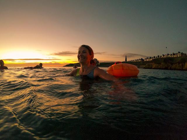 Cold water wild swimming health benefits sea river lake ice