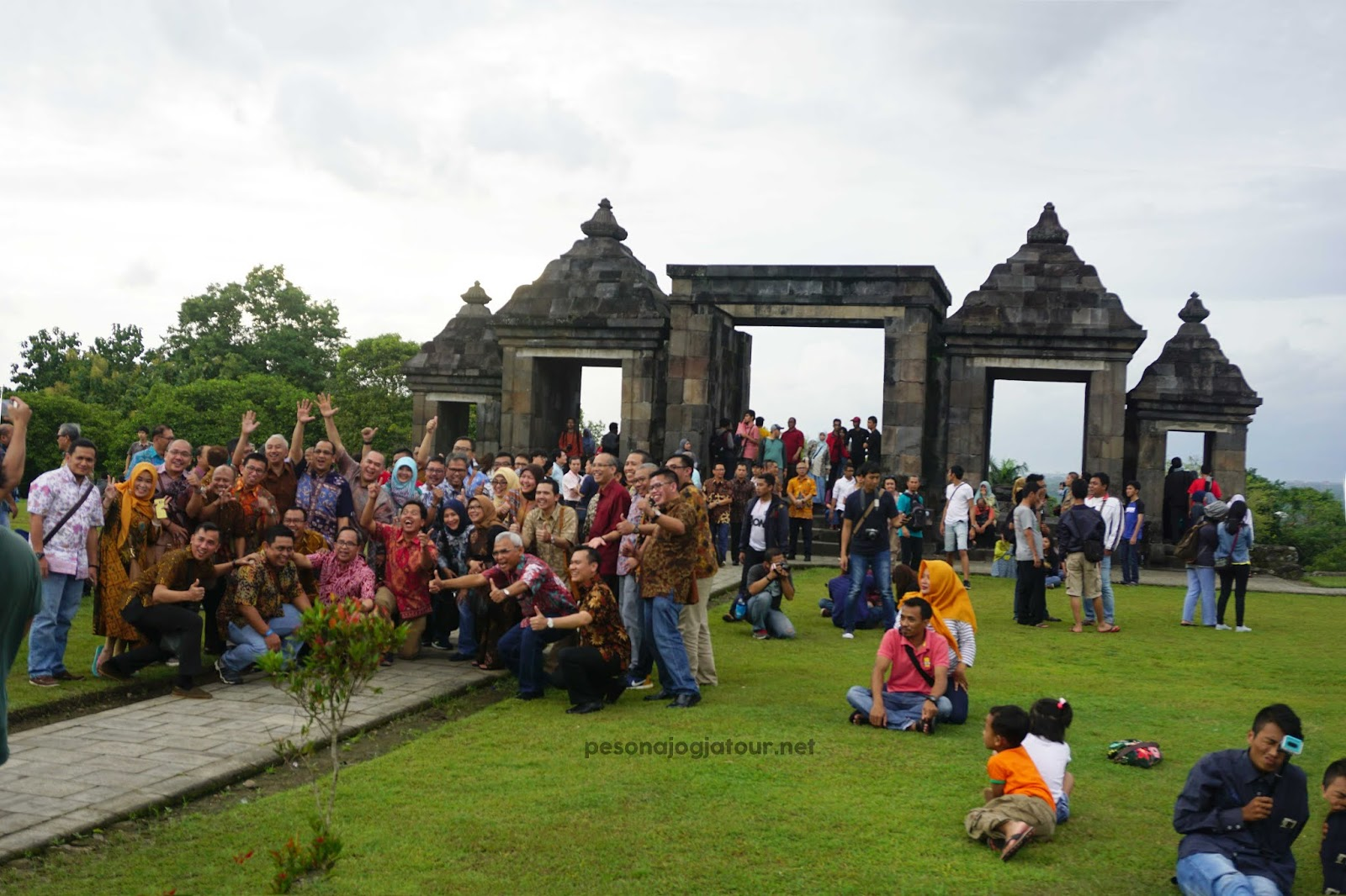 Sunset Candi Ratu Boko