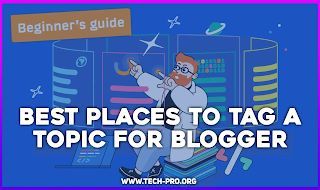 Best places to tag a topic for blogger