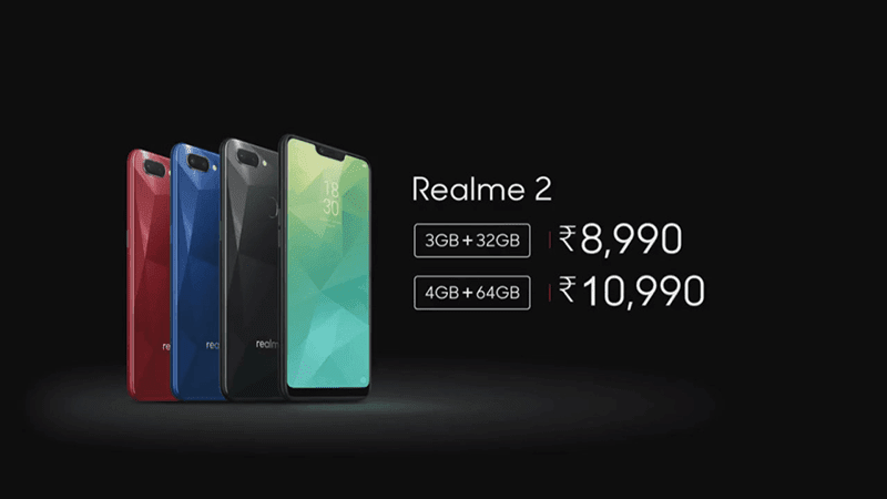 OPPO launches Realme 2 with 4,230mAh battery and dual cameras