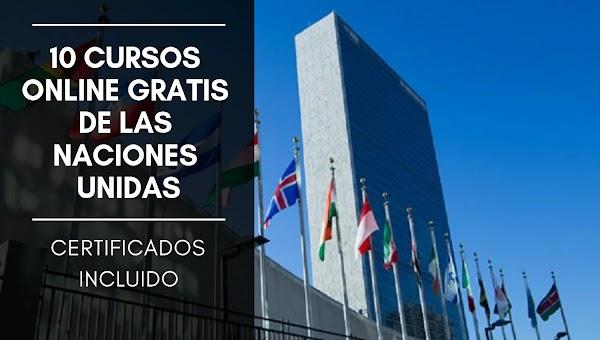 10 Cursos Online gratis de las Naciones Unidas, sobre el cambio Climático.