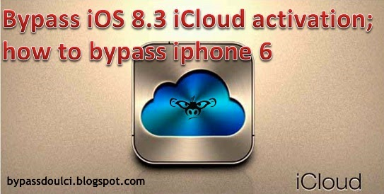 Iphone 6 ios 8 icloud bypass