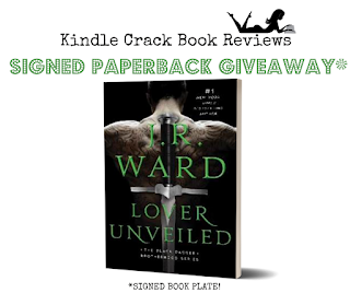 Lover Unveiled by J.R. Ward Giveaway Kindle Crack