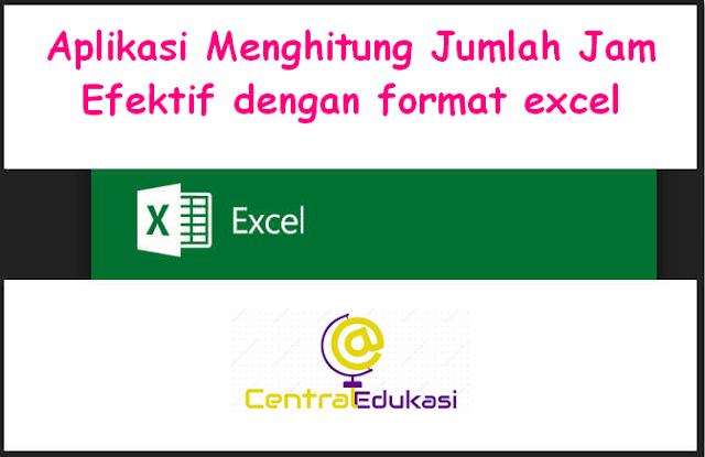 Download Aplikasi menghitung JJM efektif format excel