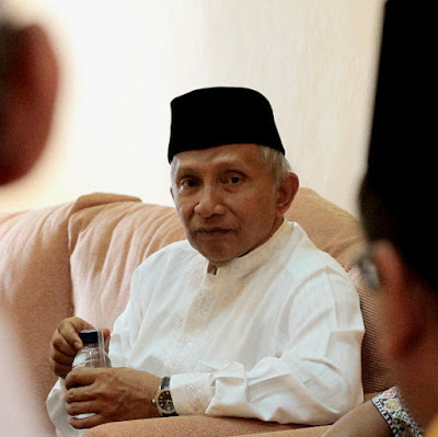 Amien Rais: Bung Jokowi, Selesaikan Skandal Ahok!