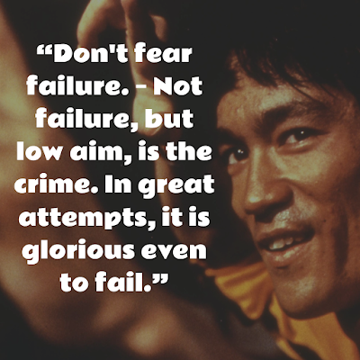 Bruce Lee Best inspirational Sayings