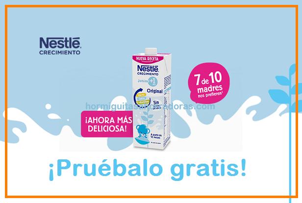 Prueba gratis Nestlé Crecimiento Junior +1