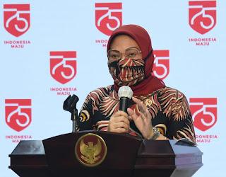 Menaker Ida Fauziyah meminta Tenaga Kerja Bongkar Muat Harus Didaftarkan BPJS Ketenagakerjaan