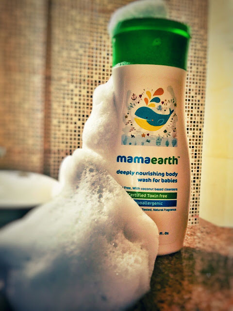 MamaEarth Deeply Nourishing Body Wash for Babies Review