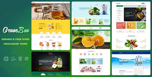 Best Vegetable and Fruit Shop Prestashop Theme