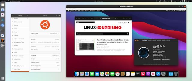 macOS Big Sur Docker QEMU Ubuntu