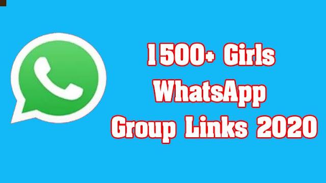 1500+ Girls WhatsApp Group Links 2020