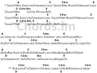 คอร์ดเพลง ปาริฉัตร - RachYO (รัชโย)