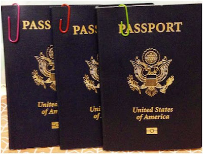 How to sort out everyone's passports when traveling with children