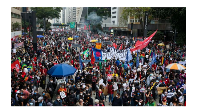 Brazil's Covid death hits 500,000 now in 'critical' situation